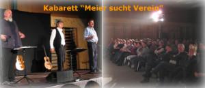 Kabarett Meier sucht Verein
