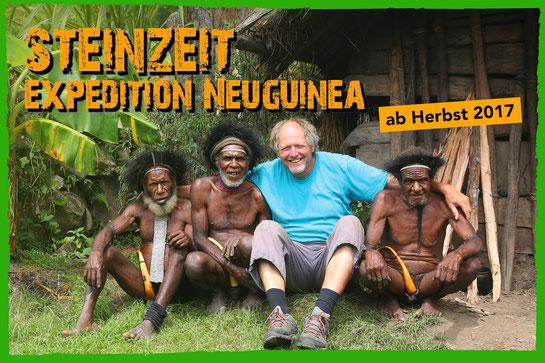 Helmut Pichler Steinzeit Expedition Neuguinea